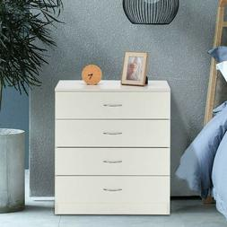 4 Drawers Modern Dresser Chest of Drawers Contemporary Furni