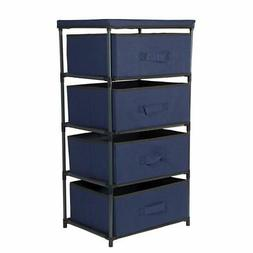 Juvale 4-Layered Storage Bin Cabinet Drawer for Clothing, Un