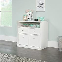 Sauder 421407 Craft Pro Series Storage Cabinet, White Finish