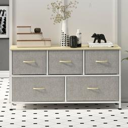 5 Drawers Modern Dresser Chest of Drawers Contemporary Furni