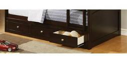75.5 in. Under bed Storage in Cappuccino