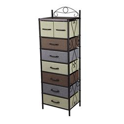 Household Essentials 8044-1 Victorian 8 Drawer Tower | Stora