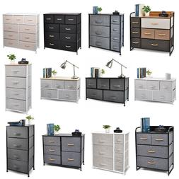 Cerbior Bedroom Storage Dresser Tower Shelf Organizer BinsCa