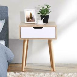 bedside storage table nightstand end side sofa