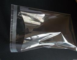 Clear Resealable Recloseable Self Adhesive Cello Lip and Tap