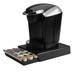 Mind Reader Coupe 30 Capacity Coffee Pod Drawer, Black