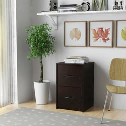 Ameriwood Home Canal 2-Drawer File Cabinet, Espresso