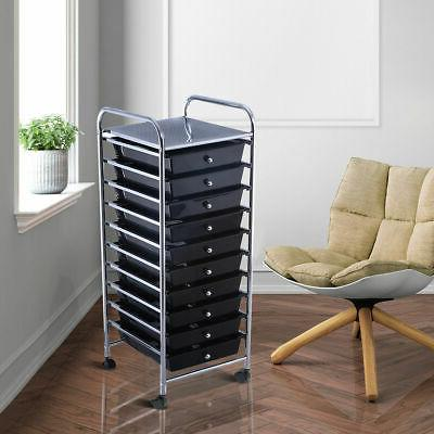 10 Rolling Storage Cart Paper Office School