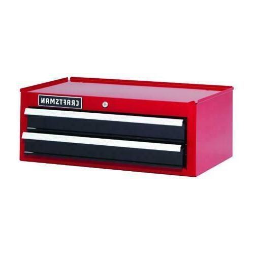 """Craftsman 26"""" in 2-Drawer Steel Heavy-Duty Middle Tool Chest"""