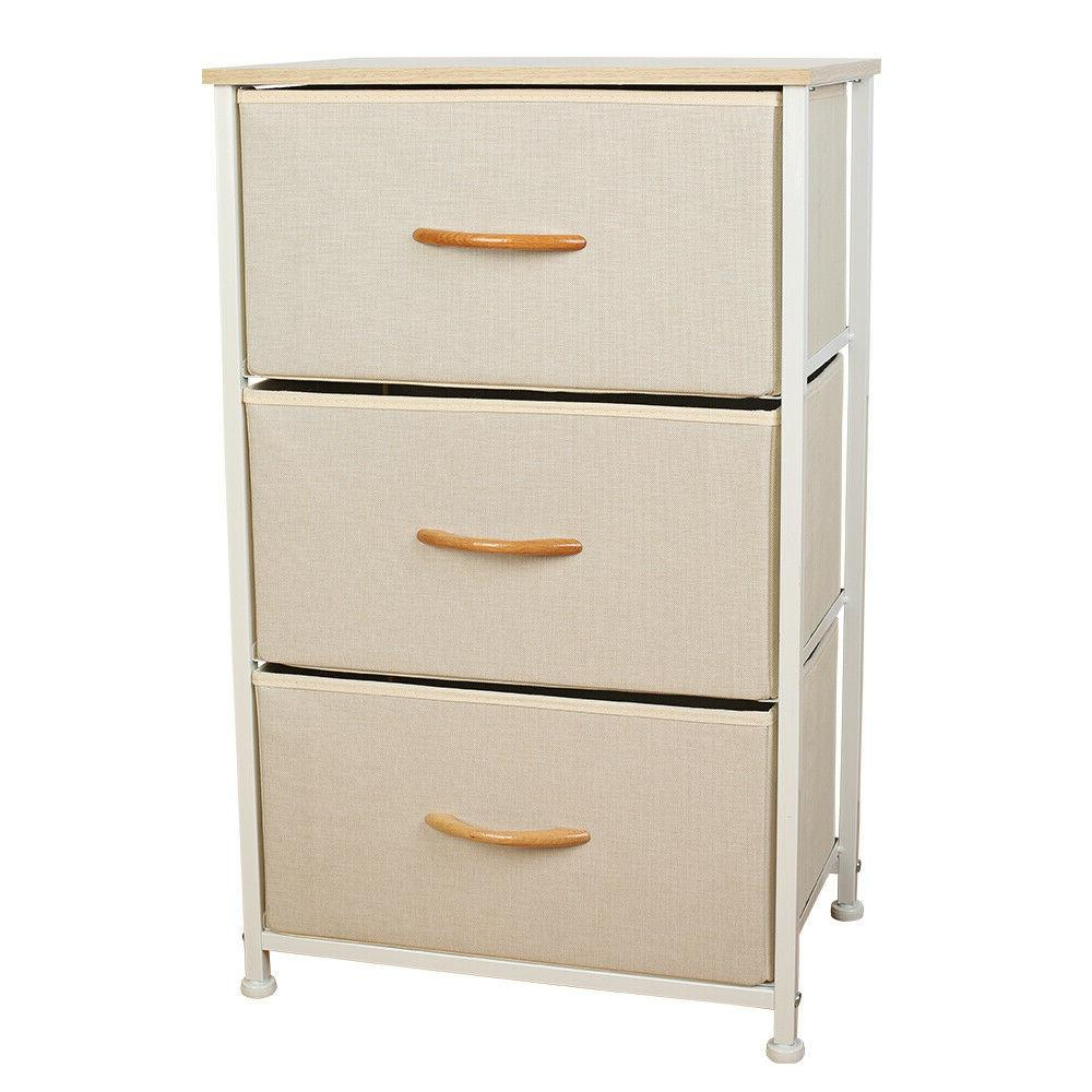 3 drawers home storage cabinet dressers tower
