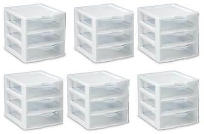 6 20738006 small compact countertop 3 drawer