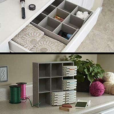 Household Essentials 9 Section Drawer Box in