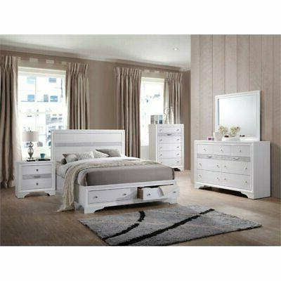 ACME Eastern Bed White