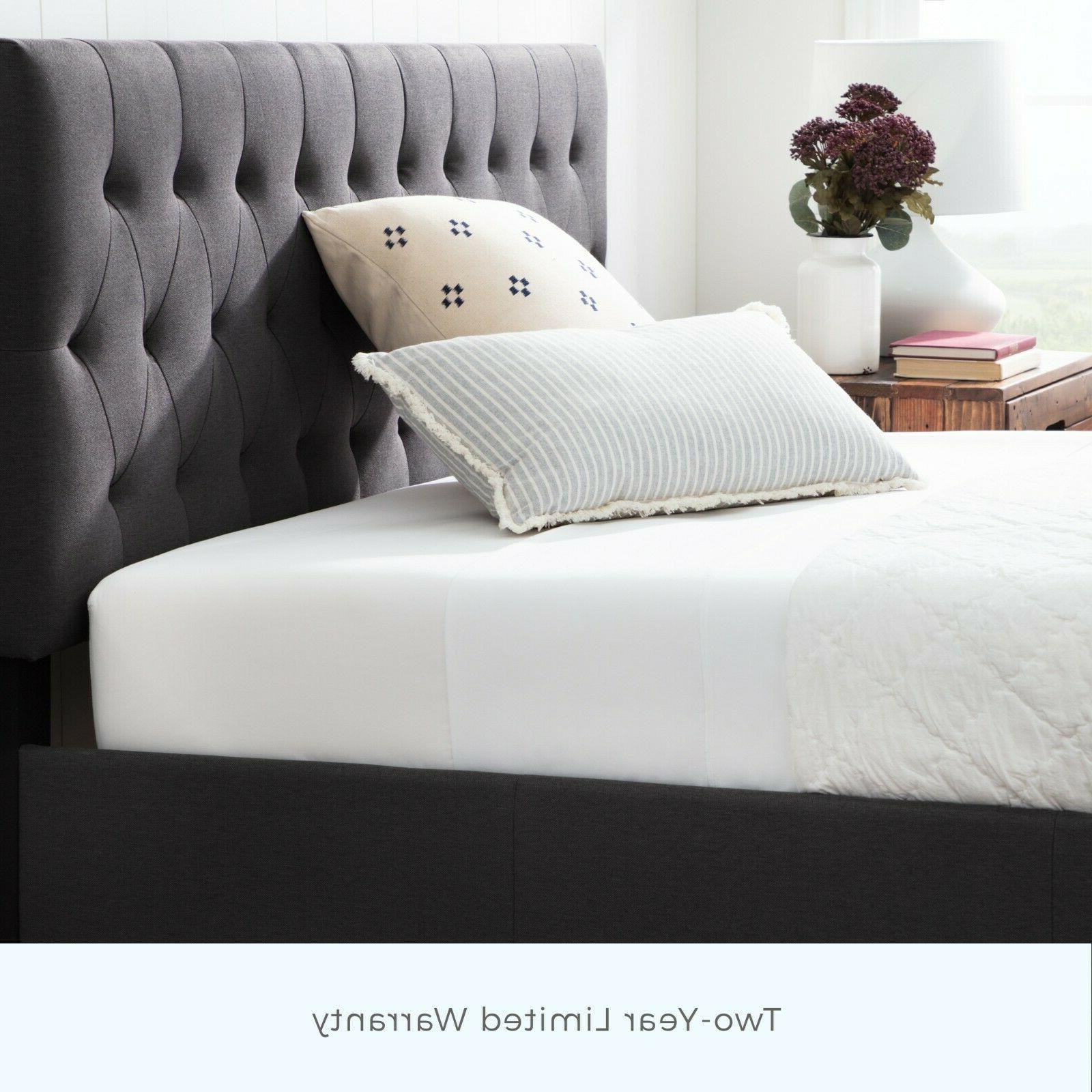 Brookside Anna Bed with Two Drawers - Two Color Options
