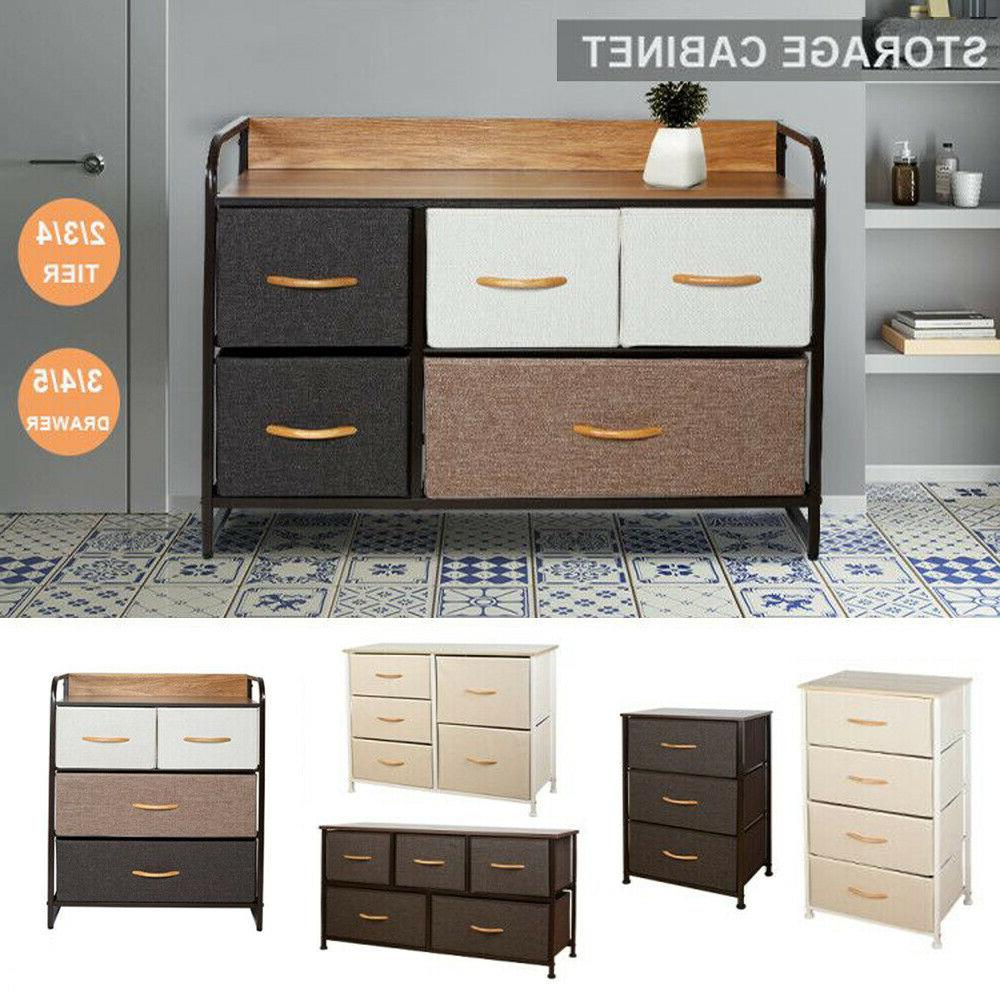 chest of fabric drawers dresser furniture 3