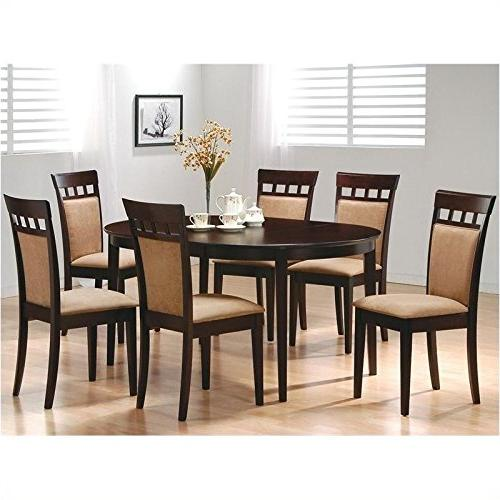 Set of Mocha Color Back, Chairs