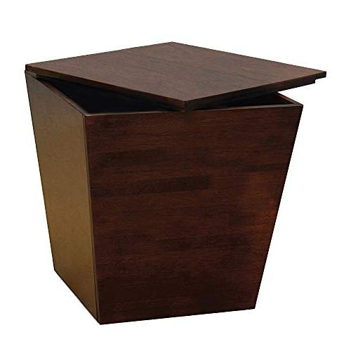 cube storage table