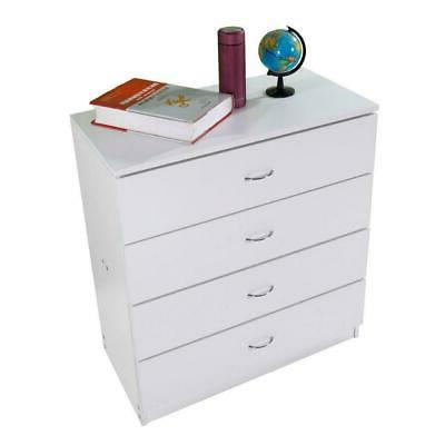 Dressers Chest of 4 White Finish