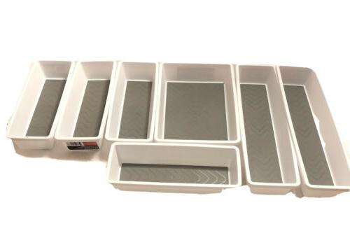 essentials storage containers drawer organizers lot of