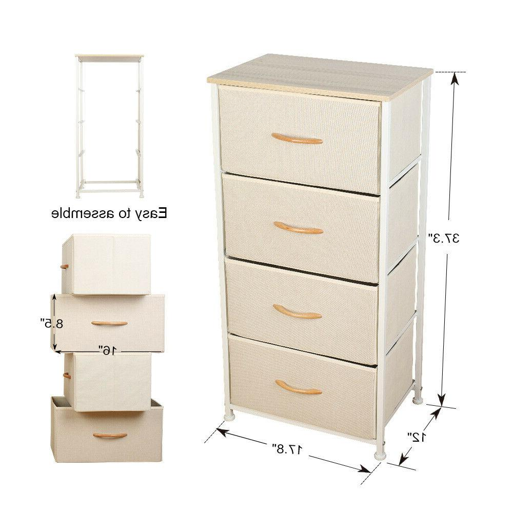 Fabric Drawers Furniture Bedroom