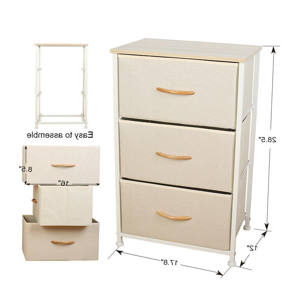 3 Drawers Home Cabinet Top Frame