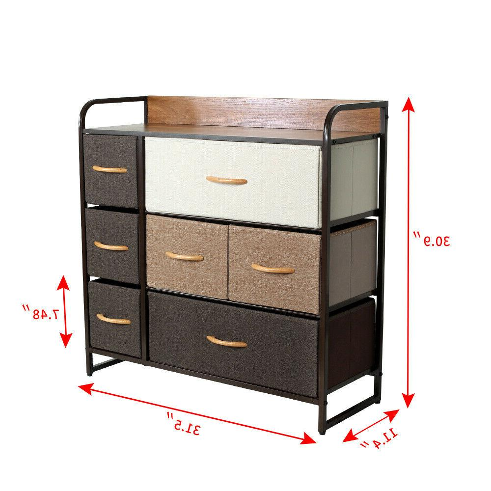 Fabric Drawers Bedroom