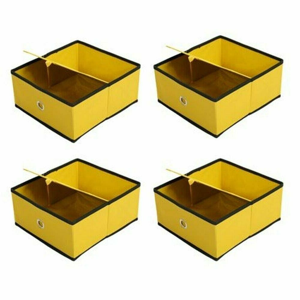 Home Storage Cubes Cubby Basket Drawers Organizer 8-Pack