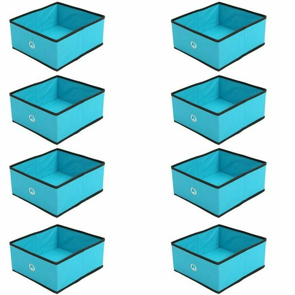 home foldable storage bins cubes fabric cubby