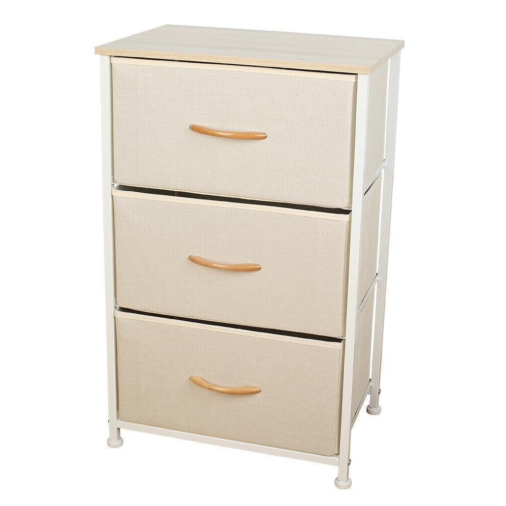 Home Storage Cabinet Tower 3/4 Drawers Frame