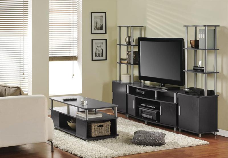 Living Tv Stand Gaming Table Drawers Storage Playstation