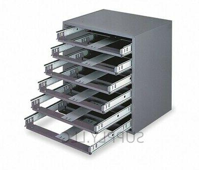 STEEL BIN SHELVING 6 Drawers Compartments Parts Fittings Nut
