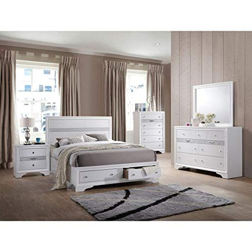 ACME Naima Queen Bed with