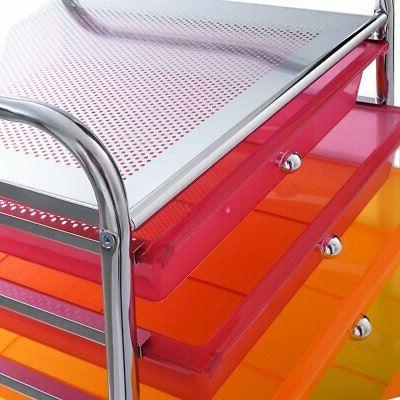 Rolling Cart Organizer School Organizers and