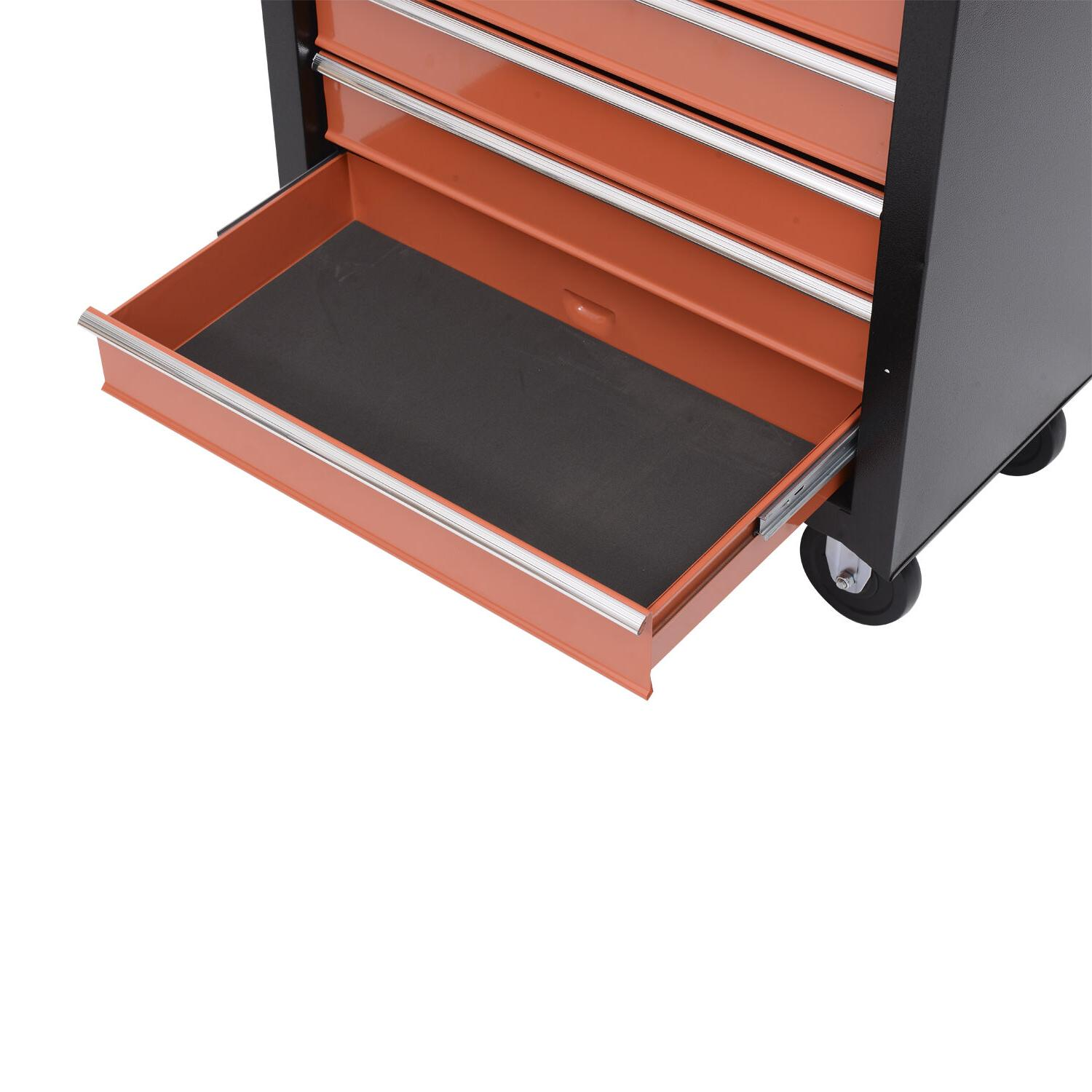 Rolling Chest Cart Toolbox Storage