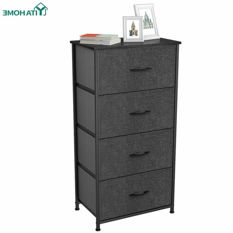 YITAHOME Furniture 4 Bins Chest of