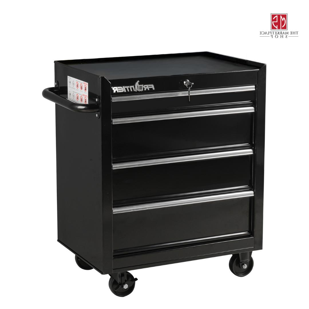 Tool Chest Metal Rolling 4 Drawers