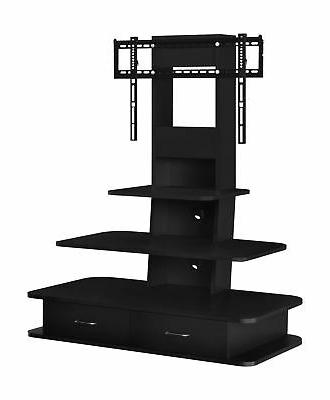 tv stand entertainment center w mount drawer