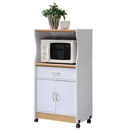 Microwave Drawer Cart Cabinet Shelf Rack Stand Home Office K