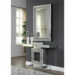 ACME Furniture Modern Noralie Console Table in Mirrored and