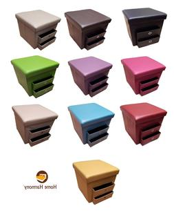 new folding ottoman with 2 pull out