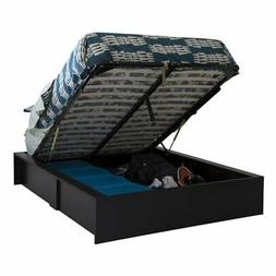 South Shore Step One Ottoman Storage Bed, Queen 60-Inch, Pur