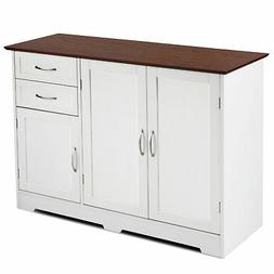 Storage Cabinet Buffet Home Kitchen Storage Table Sideboard